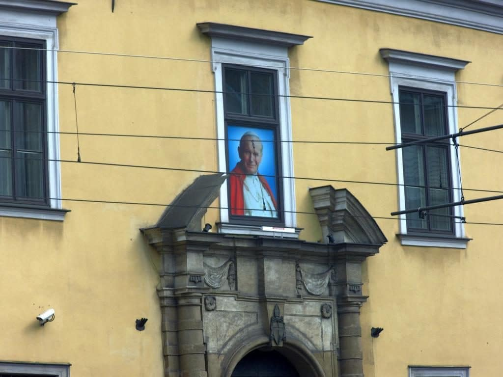 Johannes Paul II Fenster