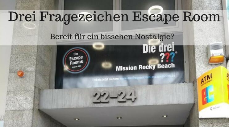 Drei Fragezeichen Escape Room