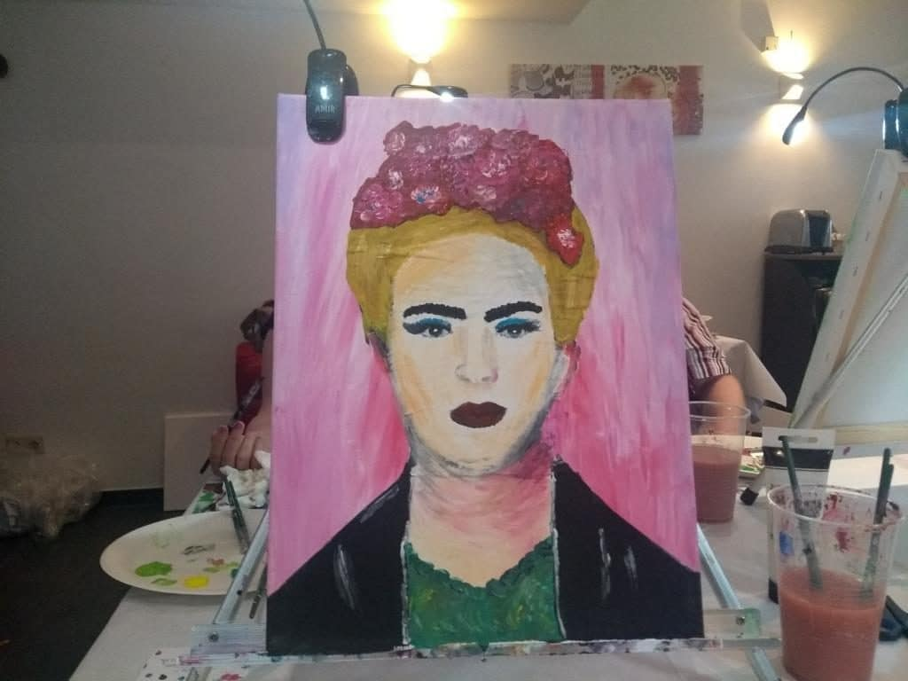 Art Night Frida Kahlo