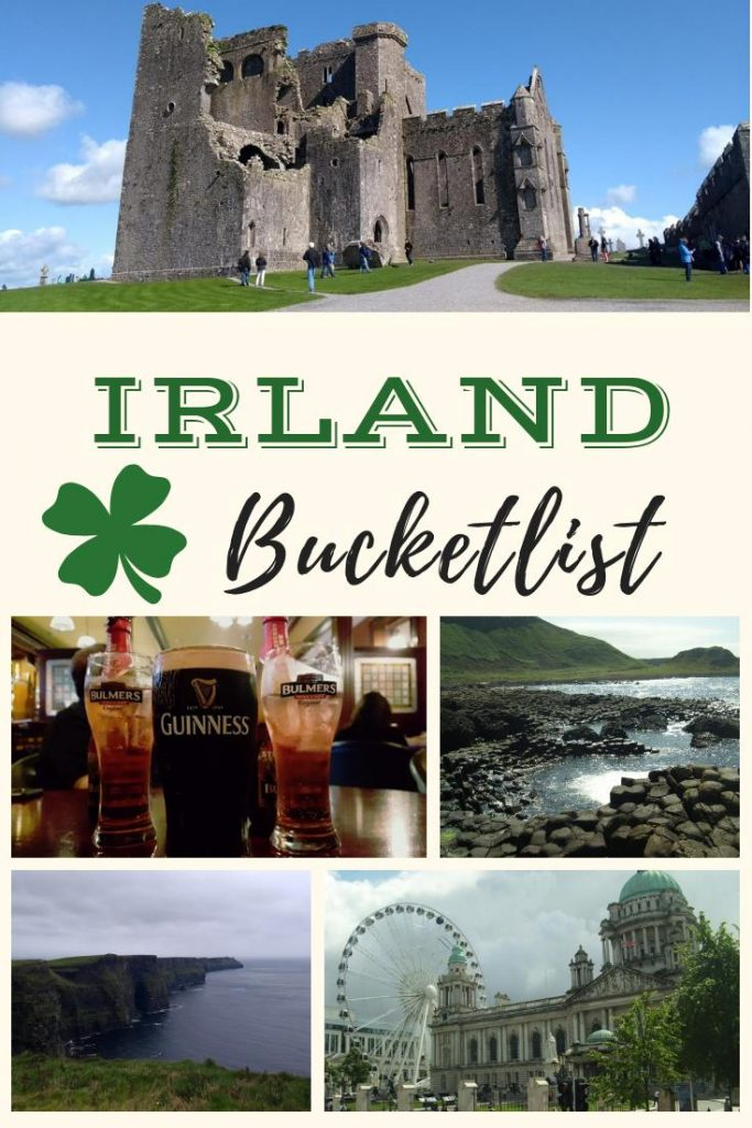 Die ultimative Irland Bucketlist