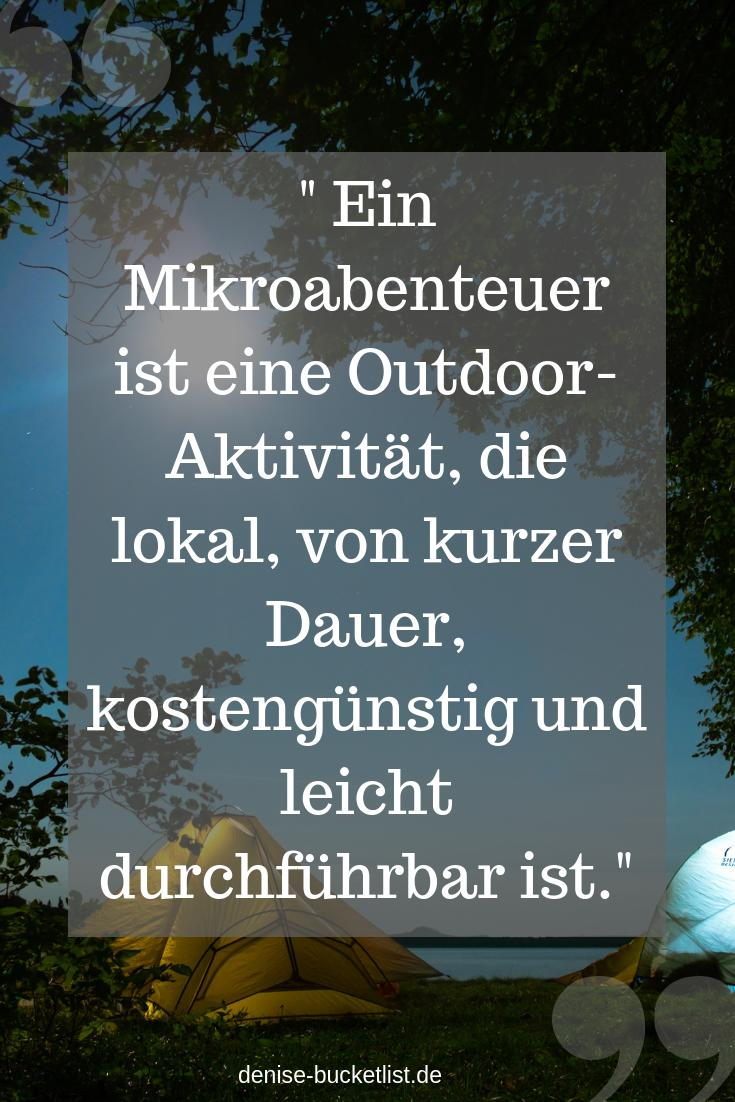 Mikroabenteuer Definition