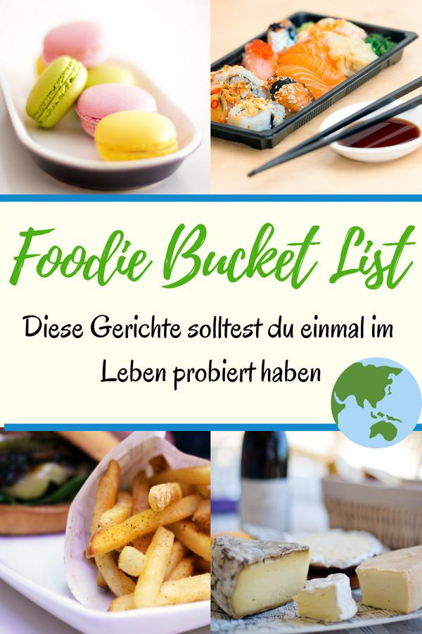 Foodie Bucketlist 1