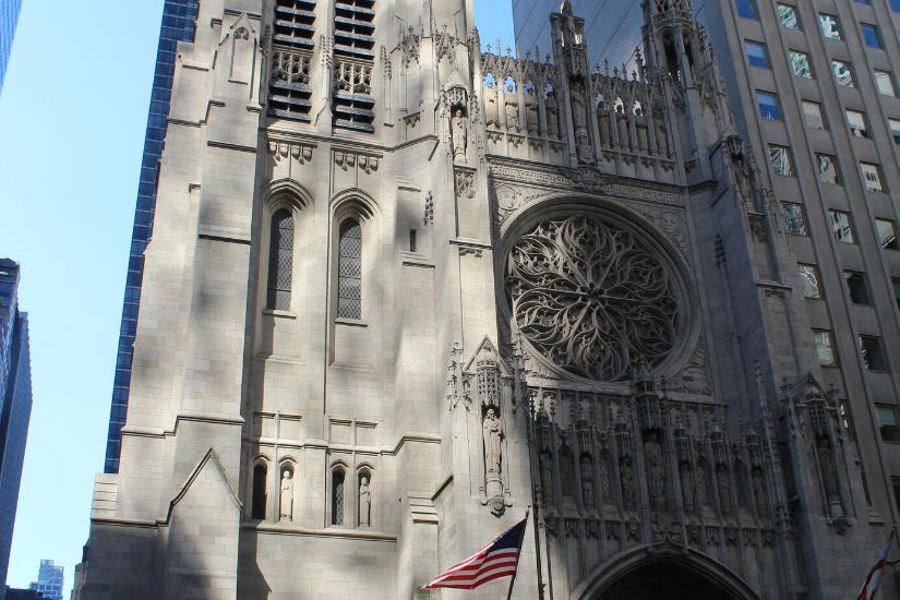 Fassade der St. Patricks Cathedral in New York