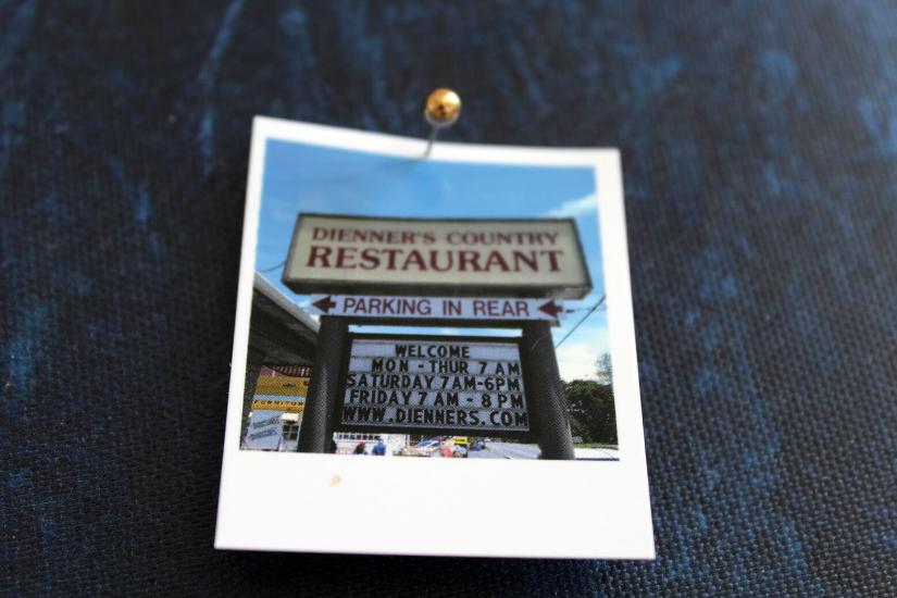 Amish Diner in Lancaster County